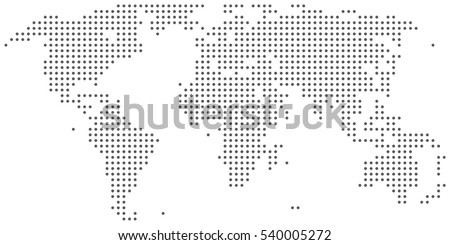 World map dots vector download free vector art stock graphics dotted abstract world map gumiabroncs Choice Image