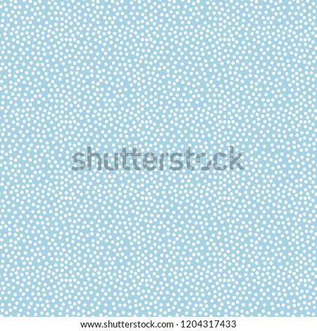 Dotted background.Seamless chaotic tileable polka dot pattern vector