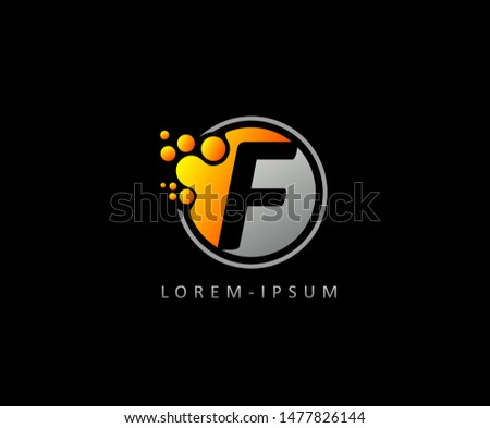 Dotted G Letter Logo. G Letter Design with dot shape ,perfect for modern technology, network, software and science brand.