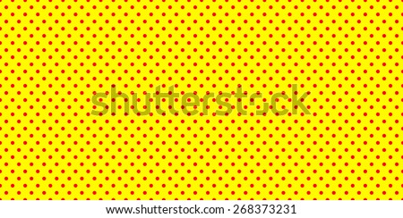 Dotted, Pop Art Background, Pop Art Pattern. Symbolic Background of Art of 1960s. Seamlessly Repeatable.