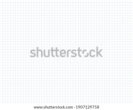 Dotted square paper surface grid vector illustration. Squared texture cage mathematics background. Square wide lined sheet notebook paper.