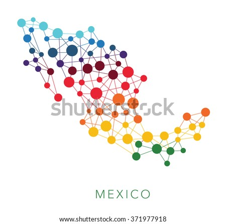 Mapa De México Vector Descargue Gráficos Y Vectores Gratis