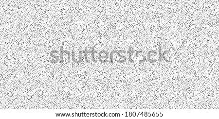 Dotwork pattern vector background. Black noise stipple dots. Abstract noise dotwork pattern. Sand grain effect. Black dots grunge banner. Stipple spots. Stochastic dotted vector background.