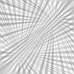 Double abstract curved ray burst background - vector design from curved rays in grey tones