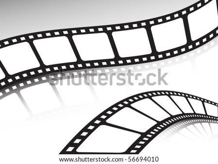 Double film cinema background set