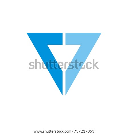 double 7 or 77 letter triangle