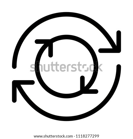 Double Rotate Closed Arrows