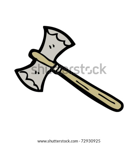 Double Sided Axe Cartoon Stock Vector ShutterstockDouble Sided Axe Tattoo