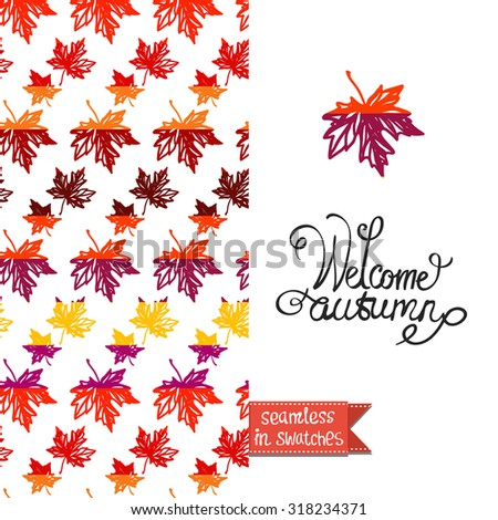 double sided vintage autumn