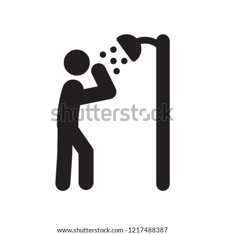Dousing Shower icon. Trendy Dousing Shower logo concept on white background from sauna collection. Suitable for use on web apps, mobile apps and print media.