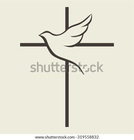 dove and cross