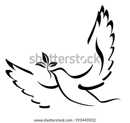 dove of peace illustration
