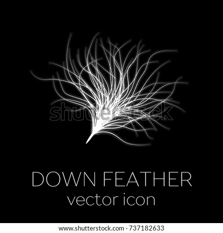 Down feather icon
