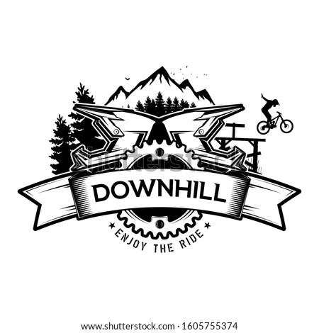 downhill mountain biking the