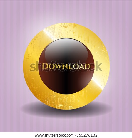 Download gold emblem