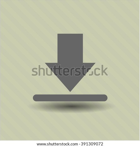Download icon vector illustration