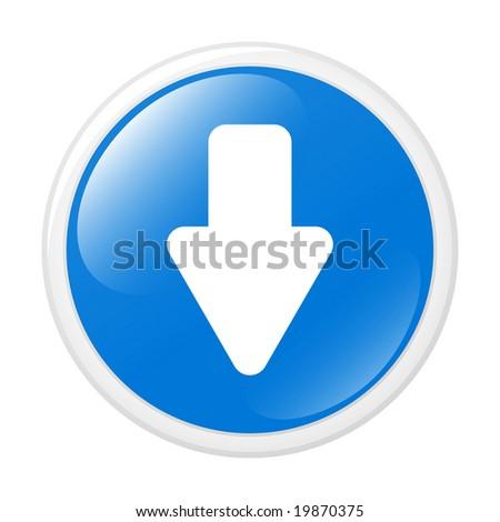 Download symbol. Button. Icon