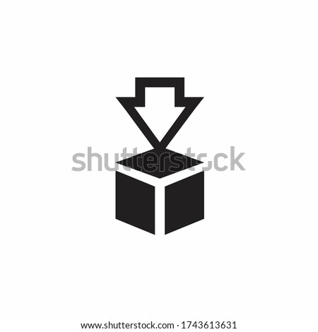 Download the vector icon. Various simple download icon with arrow down. Receive data from remote storage signs. solid download vector icon. Illustration vector graphic of download icon.