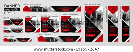 Download this elegant banner collection. Ad banner templates.  EPS File. Easy to edit vector. Standard Size.  Online Banners; Mobile Ad. Standard Format. Display Ad. Size in px (pixels).