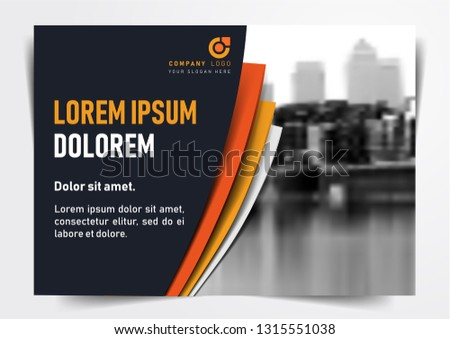 Download this elegant design template. Print ready. EPS File. Easy to edit vector. A4 Size. Can be used as Online Invite; Online Banner; Company Presentation Layout. Flyer Design Template.