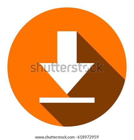 Download vector icon