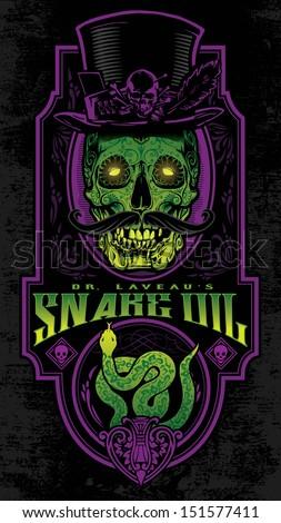 dr laveau's voodoo snake oil