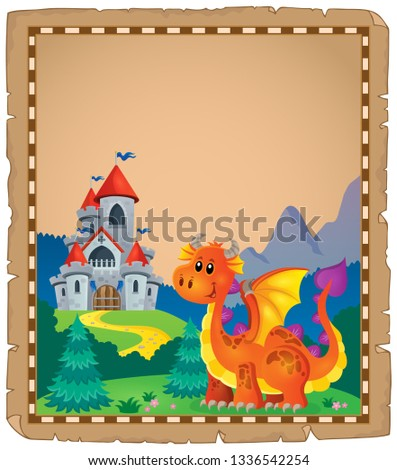 dragon and castle theme