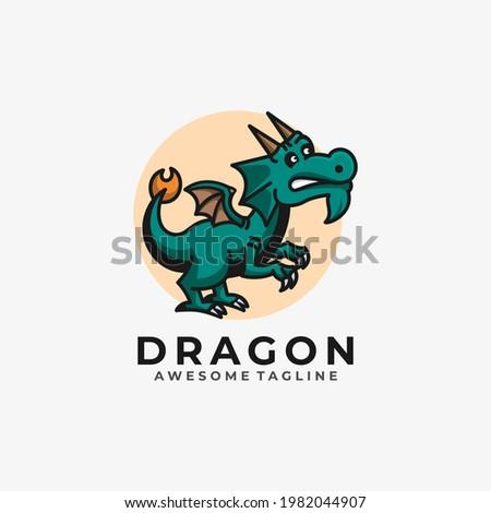 dragon cartoon illustration