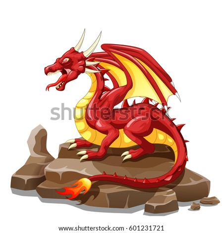 dragon fire animal cartoon