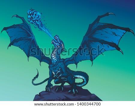 dragon fire breathing spreading