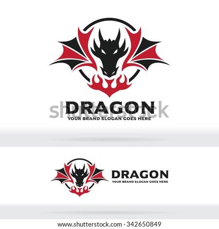 dragon logo  dragon sign