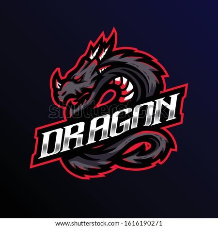 dragon mascot logo dragon