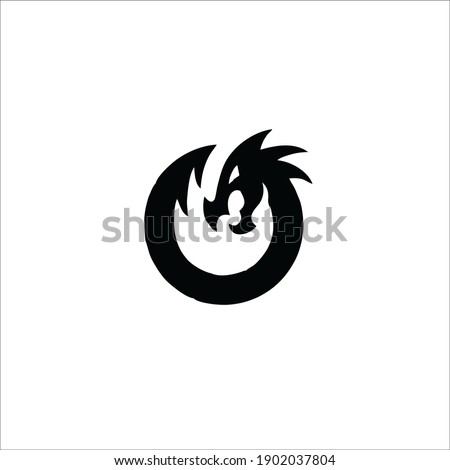 dragon symbol logo tattoo
