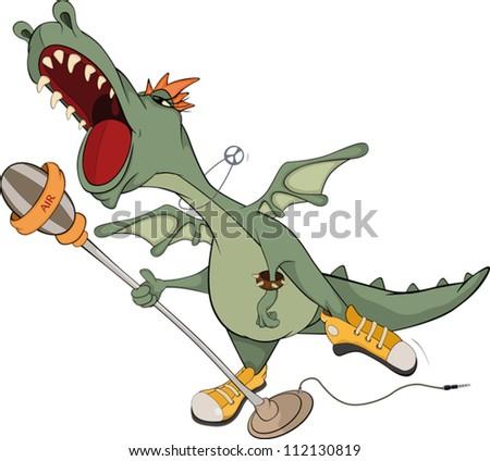 dragon the actor cartoon