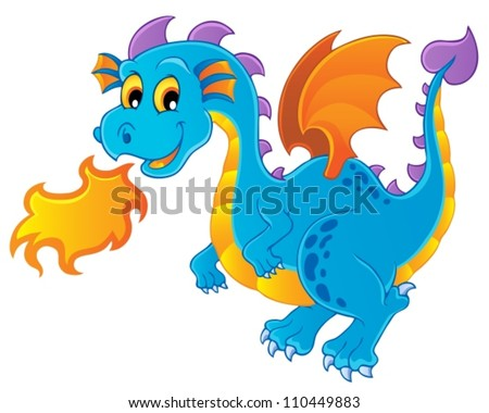 dragon theme image 4   vector