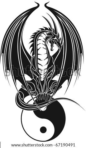 dragon tribal like