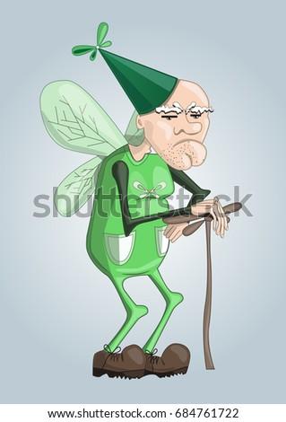dragonfly grandpa character