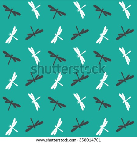 dragonfly vector art background