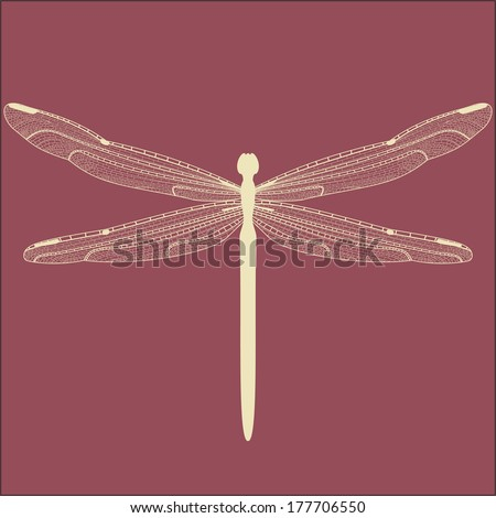 dragonfly wings half multiple