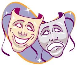 Drama theater masks