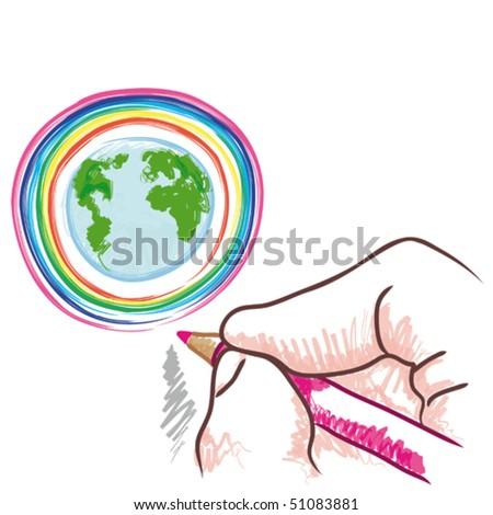 draw the world