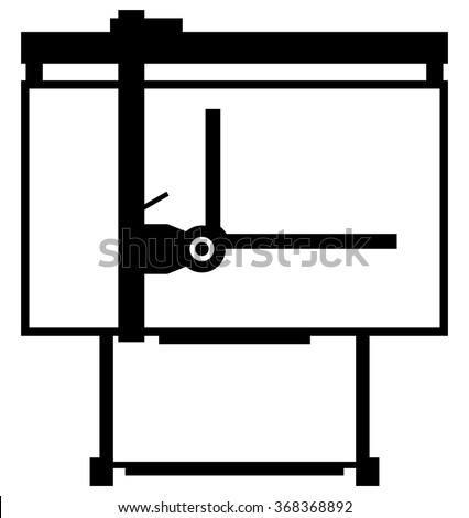 Architectural Drawing Board Architects Bleached Oak And Design