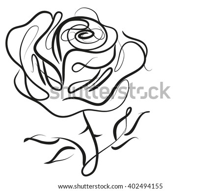 Drawing vector graphics with floral pattern for design floral flower natural design graphic
