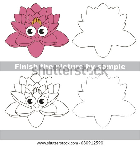 Lotus Flower Drawing Step By Step Free Download On Clipartmag