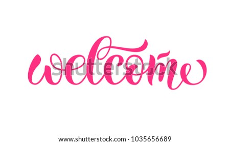 Drawn art calligraphy of logotype for blogger, email marketing, woman internet site, webpage of internet shop, banner, poster. Drawn art sign for girl business, store, sale, background, template, info #1035656689