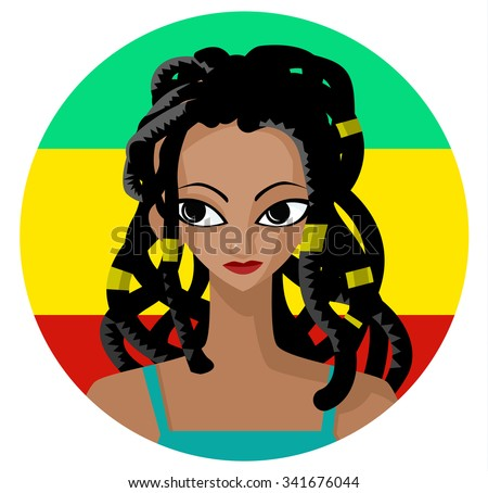dreadlocks rasta girl