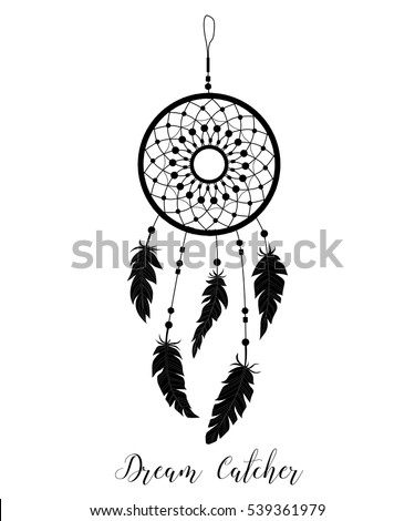 dream catcher decorated with