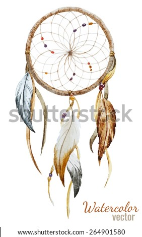 dream catcher  watercolor