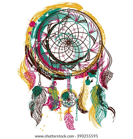 dream catcher with ornament....