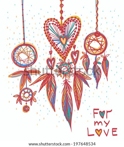Dream catchers with love